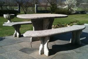 Kamenná lavička Kamenárstvo Stonestore