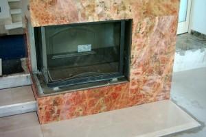 Mramorový obklad na krb Kamenárstvo Stonestore