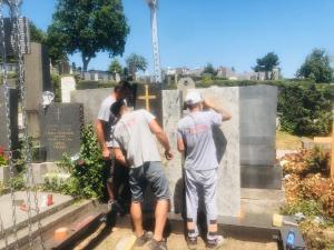 STONESTORE Montage Friedhof WIEN