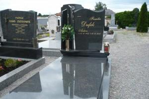 STONESTORE žulový pomník jednohrob Marchegg