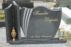 STONESTORE žulový pomník dvojhrob Marchegg