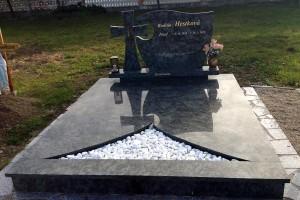 STONESTORE žulový pomník dvojhrob Brodské