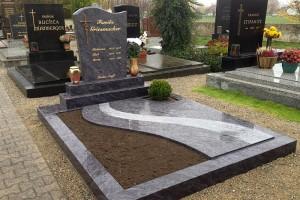 STONESTORE žulový pomník dvojhrob Schrick