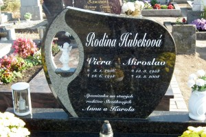 STONESTORE žulový pomník dvojhrob Bratislava
