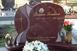 STONESTORE žulový pomník dvojhrob Malacky