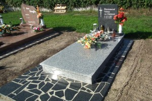 STONESTORE žulový pomník jednohrob Brodské