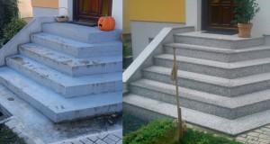 Žulové schody Sardo Kamenárstvo STONESTORE Großkrut