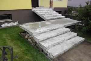 Žulové schody Kamenárstvo STONESTORE Marchegg